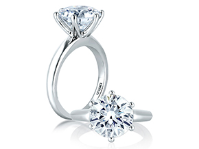 Engagement Rings from the A.JAFFE Classics™ - By A.JAFFE - Style #: ME1560-300