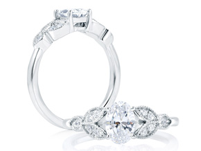 Engagement Rings - By A.JAFFE - Style #: ME1712-110