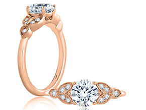 Engagement Rings from the A.JAFFE Classics™ - By A.JAFFE - Style #: ME1754-110