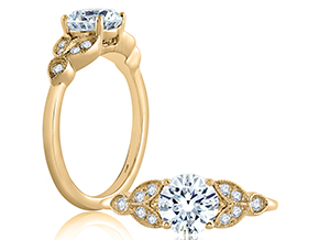 Engagement Rings from the A.JAFFE Classics™ - By A.JAFFE - Style #: ME1754-55