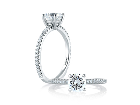 Engagement Rings - By A.JAFFE - Style #: ME1774-47