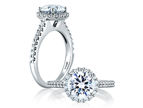 Engagement Rings - By A.JAFFE - Style #: ME1837-248