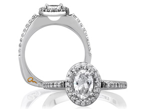 Engagement Rings from the A.JAFFE Metropolitan - By A.JAFFE - Style #: MES185-26