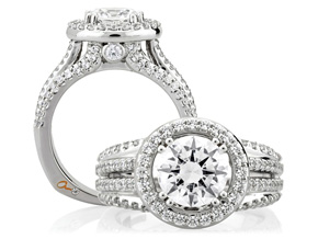 Engagement Rings from the A.JAFFE Metropolitan - By A.JAFFE - Style #: MES268-289