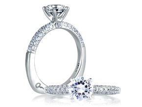 Engagement Rings from the A.JAFFE Classic - By A.JAFFE - Style #: MES307-251