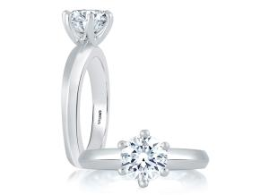 Engagement Rings from the A.JAFFE Classic - By A.JAFFE - Style #: MES391-400