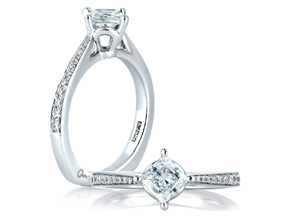 Engagement Rings from the A.JAFFE Seasons of Love - By A.JAFFE - Style #: MES430-92