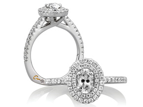 Engagement Rings from the A.JAFFE Metropolitan - By A.JAFFE - Style #: MES512-94