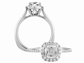 Engagement Rings from the A.JAFFE Metropolitan - By A.JAFFE - Style #: MES552-136