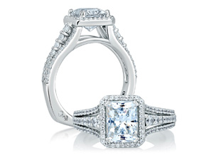 Engagement Rings from the A.JAFFE Metropolitan - By A.JAFFE - Style #: MES568-162