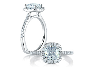 Engagement Rings from the A.JAFFE Metropolitan - By A.JAFFE - Style #: MES577-142