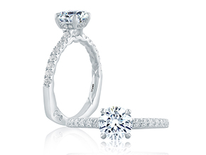 Engagement Rings - By A.JAFFE - Style #: MES726Q-234