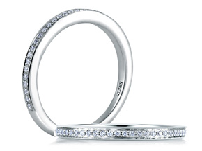 Wedding Rings from the A.JAFFE Classics™ - By A.JAFFE - Style #: MR1585-12