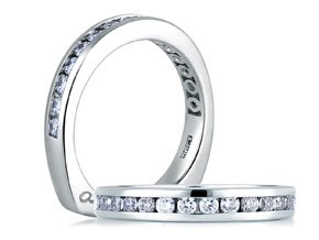 Wedding Rings from the A.JAFFE Classic - By A.JAFFE - Style #: MRS174-29