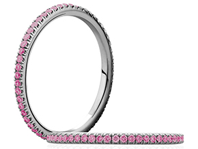 Wedding Rings - By A.JAFFE - Style #: WR0855-35SP