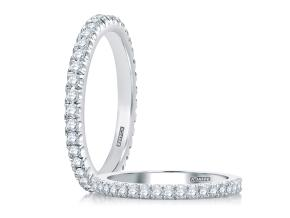 Wedding Rings from the A.JAFFE Classic - By A.JAFFE - Style #: WR0855-25